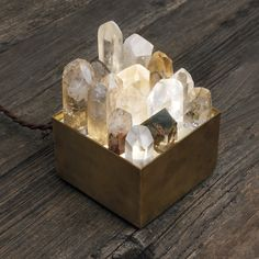 Crystal lamp box