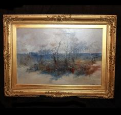 Oil Painting | Charlotte Nail Antiques Showroom 165 at The Houston Design Center