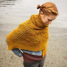 Authenticity a new shawl design by @softsweater using Sweet Fiber CANADIAN in Golden   #sweetfiberyarns #authenticityshawl #handdyedyarn #wool #canadian #knitting_inspiration #knittersofinstagram #knitstagram #ravelry by sweetfiber