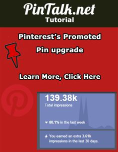 Pinterest's Promoted Pin ad platform upgrade. Changes to the Promoted Pins ad platform include adding tracking pixels, allowing advertisers to choose between two goals (Figure 1), and the interface is also a bit nicer looking.