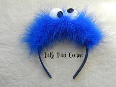 Sesame Street Cookie Monster Headband by BellaMimiCouture on Etsy, $14.50; Krümelmonster-Haarreif
