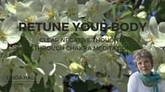 Chakra Healing Meditation, Re-tune Your Body, Clear Negative Thoughts, Release Stress Chakra Healing Meditation, Release Stress, Negative Thoughts, Stress And Anxiety, Relax, Sleep