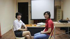 Nhân viên MYD đến thăm trường Anh ngữ Target