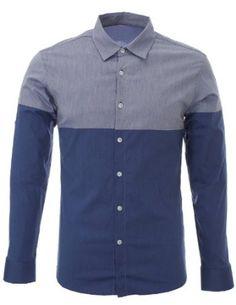 Mens Designer Slim Fit Casual Roll-Up Long Sleeve Shirts Formal Shirts, Clothing Co, Men Casual, Casual Attire, Casual Button Down Shirts, Shirt Style, Long Sleeve Shirts, Menswear, Mens Fashion