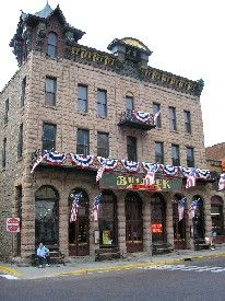 The Historic Bullock Hotel in Deadwood, SD, will give you a couple spirit interactions.