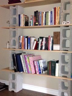 Block & Board bookshelf