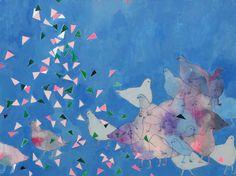 Flakes by Misato Suzuki on Artfully Walls