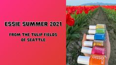 Essie Summer 2021 Collection Tulip Fields, Essie, You Nailed It, Color Pop, The Creator, Ads, Summer, Collection, Summer Time