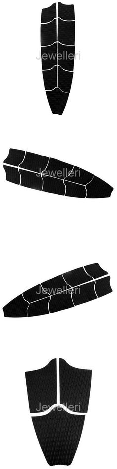 Other Surfing Accessories 71167: Set Of 9 Pcs Surfboard Traction Pad Surf Longboard Full Deck Grip Tail Pad Black -> BUY IT NOW ONLY: $36.84 on eBay!