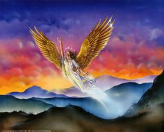 """Revelation 12:14 - """"And to the woman were given two wings of a great eagle, that she might fly into the wilderness, into her place, where she is nourished for a time, and times, and half a time, from the face of the serpent."""""""
