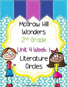 This resource was created to align with Wonders Unit 4 Week 1 Literature Circles. Literature Circles are embedded in Day 5 and this is a great way to implement them. Each sheet is labeled with the leveled reader color in order to easily differentiate.I use them in small groups, centers, and independent work.