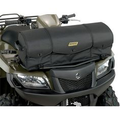 "MOOSE UTILITY DIVISION AXIS RACK BAG.  Quality cargo system with riveted straps and carrying handles adds true functionality to your ATV. Rigid bag mounts easily to your ATVs front or rear rack; mounting straps and detailed instruction set are included.  ""VISIT SITE"" ABOVE FOR ALL INFO."
