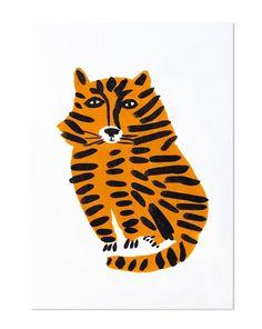 Illustration originale de Léa Maupetit. Impression numérique signée papier 300 g Munken Print White . Dimensions A3 29,7 × 42 cm Pour en savoir...