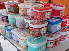 Maletinhas de pote de sorvete