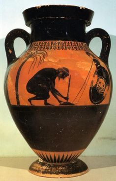 The Suicide of Ajax vase - Exekias c. 540 BCE