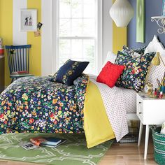 Teen Vogue Folksy Floral Comforter Set