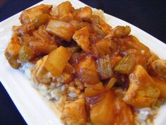 Crock Pot - Hawaiian Chicken