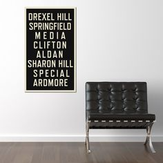 Fab.com | Philly Vintage Canvas... Where's Swarthmore???