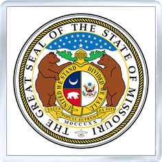 Missouri, MO State Seal, List of 50 State Seales of the United States Louisiana, 50 States, United States, Universal Life Church, State Mottos, Student Loan Forgiveness, Jefferson City, Thinking Day, Student Loans