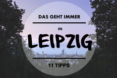 Leipzig ist nicht zu groß, nicht zu klein und verändert sich jeden Tag. Wir…