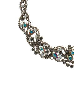 Intertwined Crystal Necklace - Bridal Collection in White Bridal by Sorrelli