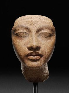 mini-girlz: Head of queen New Kingdom, dynasty, reign of. Ancient Egyptian Art, Ancient History, Art History, Kemet Egypt, Art Ancien, Art Antique, Art Sculpture, Art Graphique, Ancient Artifacts