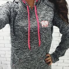 Electric Charcoal Hoodie