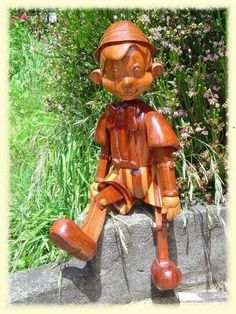 Wooden Pinocchio- Gotta get this guy involved somehow.