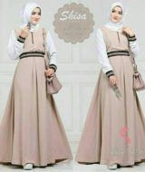 Shisa dress mocca