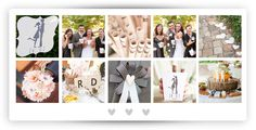 Classic Vintage Wedding Inspiration, Wedding Ideas, Real Weddings, Photo Wall, Events, Classic, Frame, Vintage, Decor