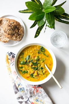 Glowing Spiced Lentil Soup