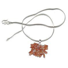 Pendentif avec chaîne Argent multi pierres précieuses bijoux pour les femmes Taille: Longueur 3,18 cm ShalinIndia http://www.amazon.fr/dp/B003DZ9SCA/ref=cm_sw_r_pi_dp_otgVvb0R7MVTR