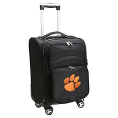 NCAA Clemson Tigers Carry-On Spinner
