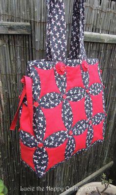 Japanese Folded Patchwork Bag 2