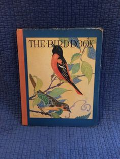 A personal favorite from my Etsy shop https://www.etsy.com/listing/265249264/1931-the-bird-book-by-frank-north