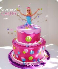 Barbie Cake.....Too cute!!