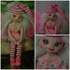 Fairy Pixie Elf Polymer Clay OOAK Fantasy Art Doll Hand Made by ...
