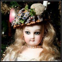 "Soft & Feminine 12.5"" French Bisque Jumeau Fashion with Wrap-Around Eyes"