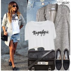 """Bloggers Style: Sincerely,Jules"" by nastyaafanasova on Polyvore"