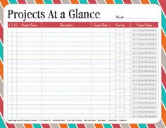 ~ free printable / Projects at a glance / from Pixels to Patchwork: Free Printable: Quilt Project Sheets (office ideas for work free printable) Planner Pages, Printable Planner, Free Printables, Planner Ideas, Goals Planner, Budget Planner, Quilting Tips, Quilting Projects, Sewing Projects