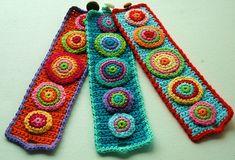 Crochet Cuffs Inspiracion http://www.pinterest.com/teretegui/