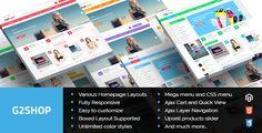 G2shop - Multipurpose Responsive Magento Theme