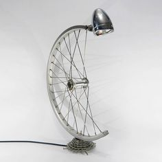 Upcycled Bike Wheel