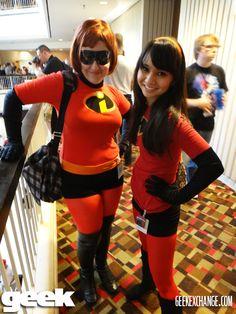 Elastigirl & Violet – the Incredibles