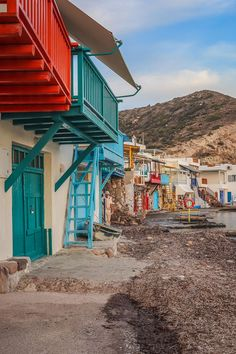 A guide to everything you need to know about visiting Klima village in Milos, including lots of photos plus tips on where to eat and where to stay. Click through for the full guide! Most Beautiful Greek Island, Best Greek Islands, Solo Travel Tips, Greece Travel, Day Trips, Travel Guides, Playground, Adventure Travel, Travel Photos