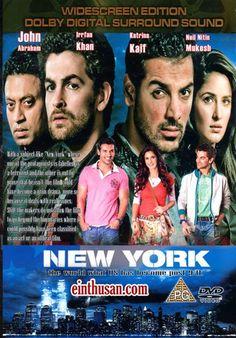New York Hindi Movie Online - John Abraham, Katrina Kaif, Neil Mukesh and Irrfan Khan. Directed by Kabir Khan. Music by Pritam. 2009 [U/A] w.eng.subs
