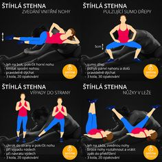 Yoga Fitness, Health Fitness, Thigh Exercises, Healthy Lifestyle Tips, Pilates, Thighs, Workout, Sports, Sumo