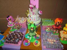 Doce Design Confeitaria: Festinha Lalaloopsy - 6 anos de Manoela