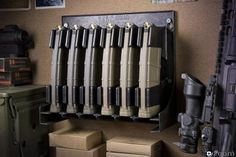 Magstore Solutions AR-15 Magazine Storage (distributed by LaRue Tactical)
