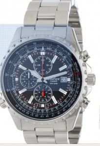 """Casio Men's EF527D-1AV """"Edifice"""" Stainless Steel Multi-Function Watch review and best price 